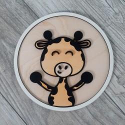 Obraz dekor ścienny dla dziecka żyrafa