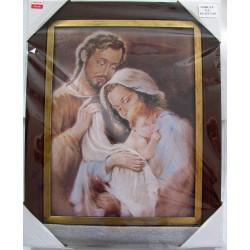 Święta Rodzina obraz drukowany na płótnie z dedykacją