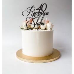 Rocznica Ślubu topper na rocznicę dowolna cyfra