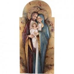 Święta Rodzina Bizancjum płaskorzeźba