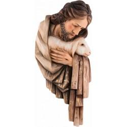 PŁASKORZEŹBA JEZUS Z BARANKIEM PASTERZ KAPLICA